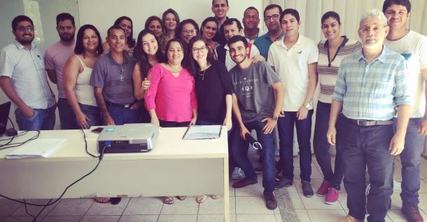 Equipe da AC Engenharia participa de treinamento.JPG